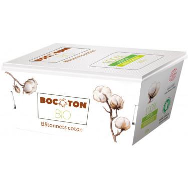 Ватные палочки органические 200шт, Bocoton - Q2067