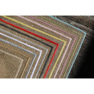 Салфетка столовая льняная бежевая 45х35см Quadrille, Charvet Editions - 38191