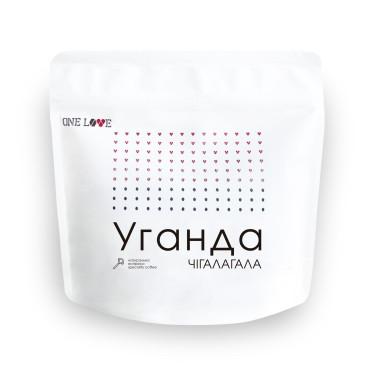 Кофе зерновой Уганда Чигалагала 250г, One Love - 96481