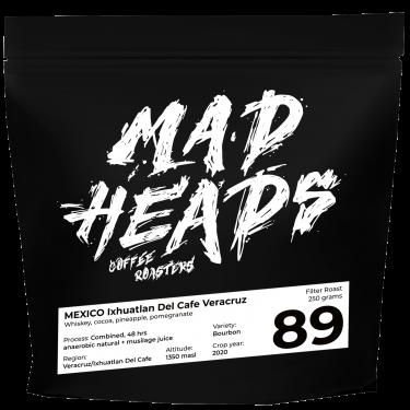 Кофе зерновой свежеобжаренный Mexico Ixhuatlan 250г, Madheads Coffee Roasters - Q2136
