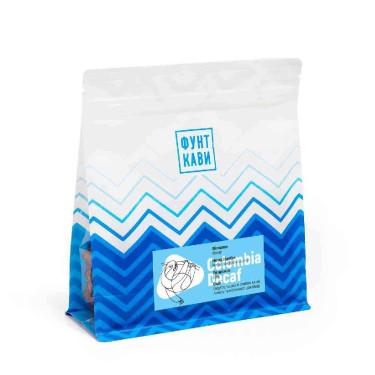 Кофе без кофеина свежеобжаренный под фильтр Декаф 250г, Фунт Кави - Q2595