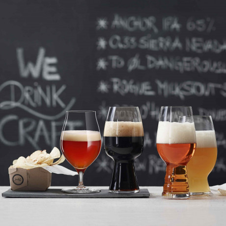 Набор бокалов для бочкового пива 0,480л (4шт в уп) Craft Beer Glasses, Spiegelau - 54004