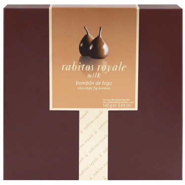 Инжир в молочном шоколаде 265г, Rabitos Royale