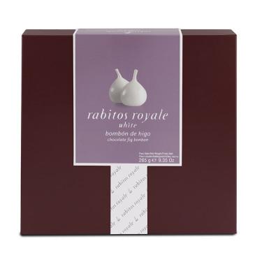 Инжир в белом шоколаде 265г, Rabitos Royale