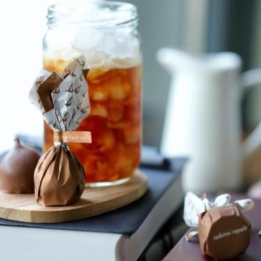 Инжир в молочном шоколаде с соленой карамелью 95г, Rabitos Royale - 33369
