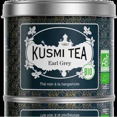 """Чай черный """"Эрл Грей"""" органический 100г, Kusmi Tea - Q0822"""
