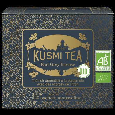 """Чай черный """"Эрл Грей Интенс"""" пакетированный, Kusmi Tea - Q0797"""