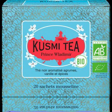 """Чай черный """"Принц Владимир"""" пакетированный, Kusmi Tea - Q0799"""