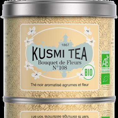 """Чай черный """"Букет Цветов № 108"""" органический 100г, Kusmi Tea - Q0826"""