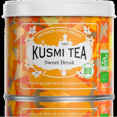 """Чай травяной """"Сладкий Перерыв"""" органический 100г, Kusmi Tea - Q0832"""