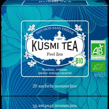 """Чай травяной """"Ощущение Дзена"""" пакетированный, Kusmi Tea - Q0800"""
