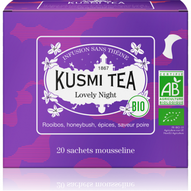 """Чай травяной """"Замечательная Ночь"""" пакетированный, Kusmi Tea - Q0806"""