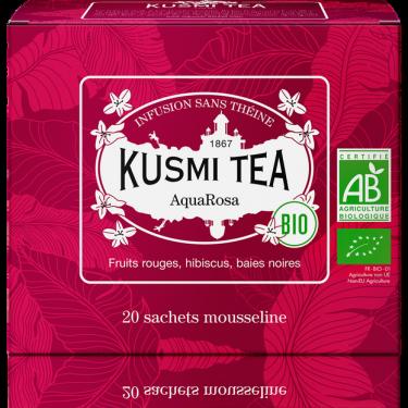 """Чай травяной """"АкваРоза"""" пакетированный, Kusmi Tea - Q0791"""
