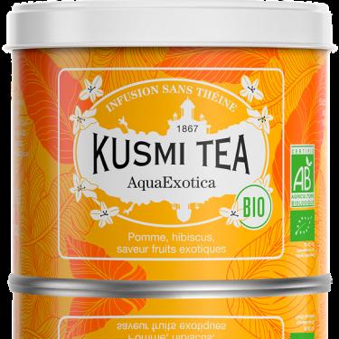 "Чай травяной ""Аква Экзотика"" органический 100г, Kusmi Tea"