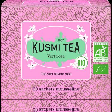 """Чай зеленый """"Роза"""" пакетированный, Kusmi Tea"""