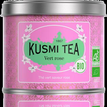 """Чай зеленый """"Роза"""" органический 100г, Kusmi Tea"""