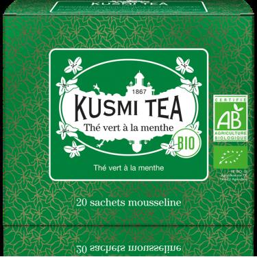 """Чай зеленый """"Мята"""" пакетированный, Kusmi Tea"""