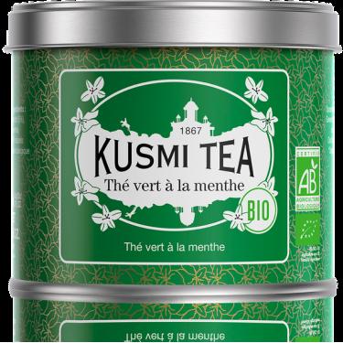 """Чай зеленый """"Мята"""" органический 100г, Kusmi Tea"""