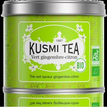 """Чай зеленый """"Имбирь и Лимон"""" 100г, Kusmi Tea"""