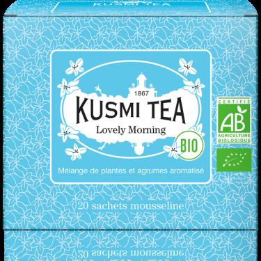 """Чай зеленый """"Замечательное утро"""" пакетированный, Kusmi Tea"""