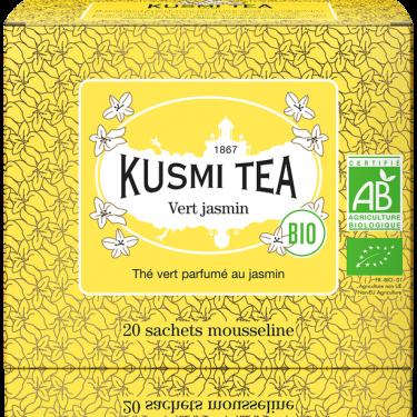 """Чай зеленый """"Жасмин"""" пакетированный, Kusmi Tea"""