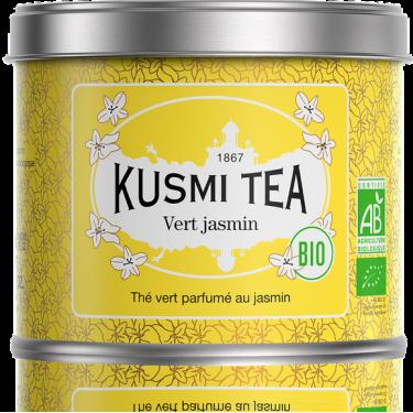 """Чай зеленый """"Жасмин"""" органический 90г, Kusmi Tea"""