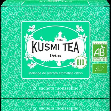 """Чай зеленый """"Детокс"""" пакетированный, Kusmi Tea"""