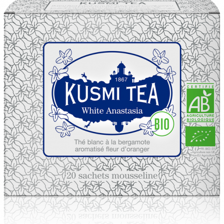 """Чай белый """"Анастасия"""" пакетированный, Kusmi Tea - Q0787"""