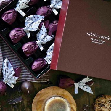 Инжир в черном шоколаде 425г, Rabitos Royale - 53320