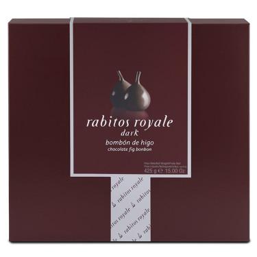 Инжир в черном шоколаде 425г, Rabitos Royale
