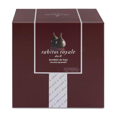 Инжир в черном шоколаде 1кг, Rabitos Royale