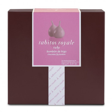 """Инжир в розовом шоколаде """"Руби"""" 142г, Rabitos Royale"""