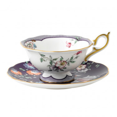 "Чашка с блюдцем ""Midnight Crane"" Wonderlust, Wedgwood - 94668"