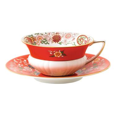 "Чашка с блюдцем ""Crimson Orient"" Wonderlust, Wedgwood - 94667"