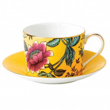 Чашка с блюдцем Yellow Tonquin Wonderlust, Wedgwood - 94655