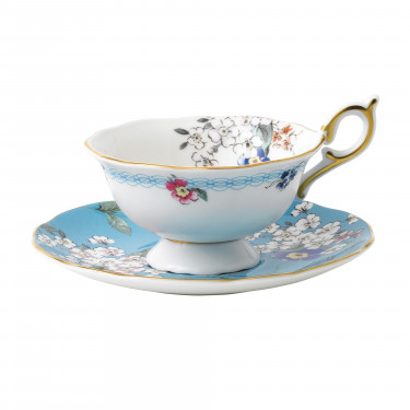 "Чашка с блюдцем ""Apple Blossom"" Wonderlust, Wedgwood - 94669"