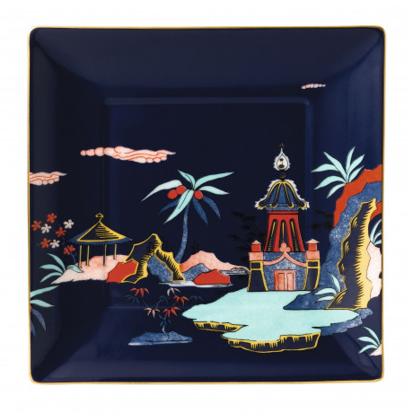 Тарелка подарочная Blue Pagoda Wonderlust, Wedgwood - 94650