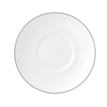 Блюдце чайное белое Vera Wang Blanc Sur Blanc, Wedgwood - 94663
