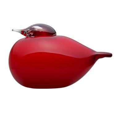 Декоративная фигурка Пафбол красный 7х5см Toikka, Iittala - 26873
