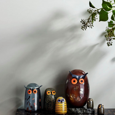 Декоративная фигурка Сова маленька 4,5х6,5см Toikka, Iittala - 21982