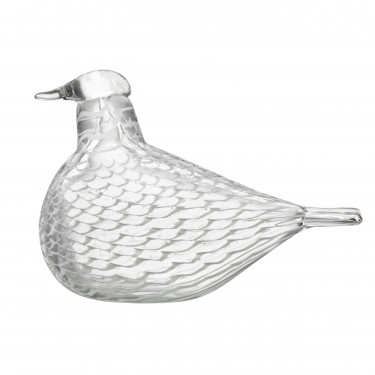 Декоративная фигурка Голубь прозрачная 16х11см Toikka, Iittala - 34187