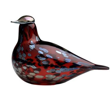 Декоративная фигурка Птица рубиновая Toikka, Iittala