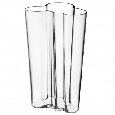 Ваза стеклянная прозрачная 25,1см Aalto, iittala - 15048