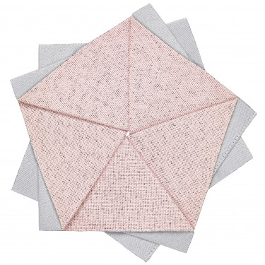 Салфетка-цветок настольная розовая I X I, iittala - 30766