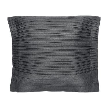 Наволочка гофрированная темно-серая I X I, Iittala - 30788