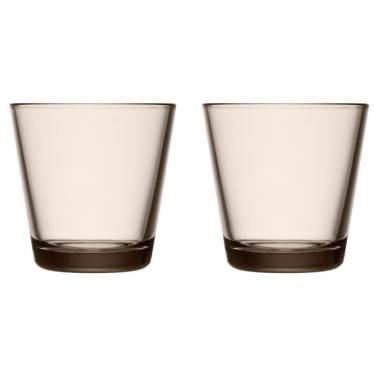 Набор стаканов коричневых 210мл (2шт в уп) Kartio, iittala