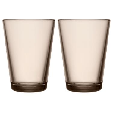Набор стаканов коричневых 400мл (2шт в уп) Kartio, iittala
