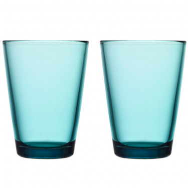Набор стаканов голубых (2 шт в уп) 400 мл Kartio, iittala - 15030
