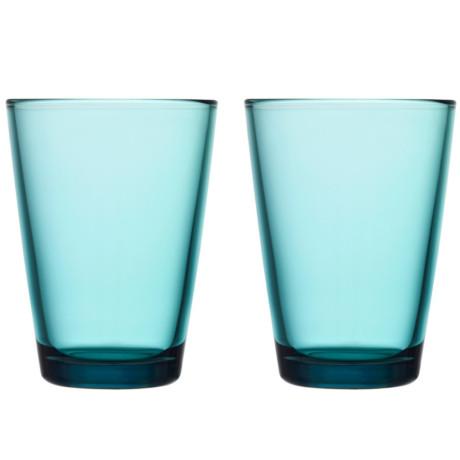 Набор стаканов бирюзовых Kartio 400 мл (2 шт. в уп), iittala - 15030