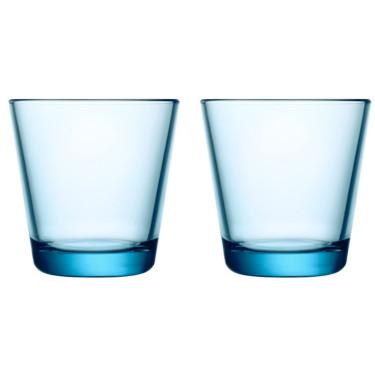 Набор стаканов голубых (2шт в уп) 210 мл Kartio, iittala - 23780